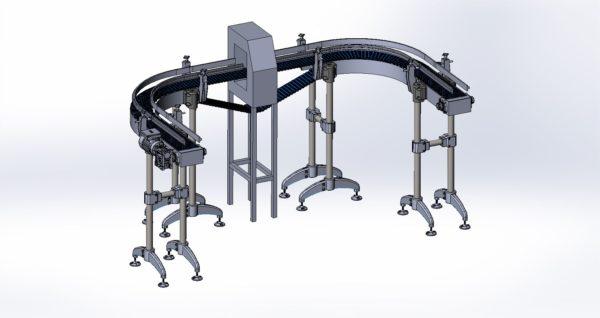 (рус) Проектирование, изготовление, сборка, ввод в эксплуатацию конвейеров и конвейерных систем