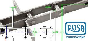 Conveyor chains Rosa Catene